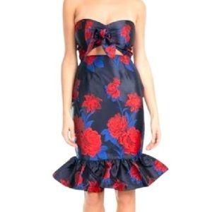 Endless Rose Cecilia Brocade Strapless Dress